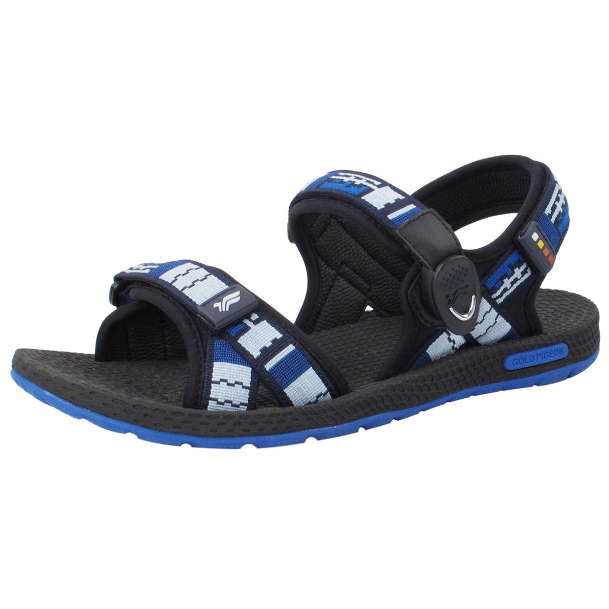 Simplus Snap Lock Sandal 8658m Blue Size Men 8 11