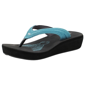 Ladies' Signature Thong: 8523 Turquoise Blue (Size: 4-8)