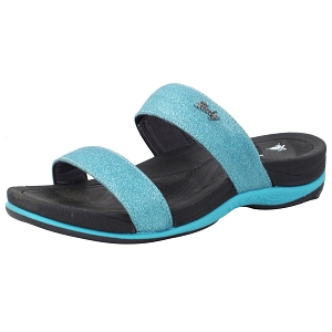 Ladies' Signature Slide: 8538 Lt. Blue (Size: 4-8)