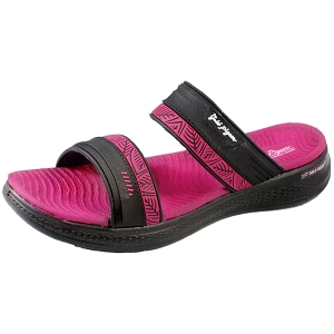 *New Arrival 5/15* Eva Anti-Fatigue Cushion Slide: 1583 Fuchsia (Size: Women 6.5-8)