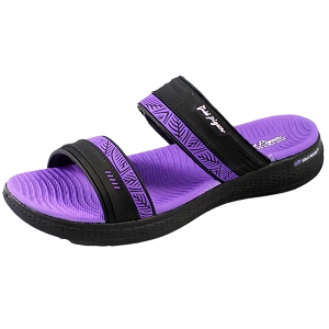 *New Arrival 5/15* Eva Anti-Fatigue Cushion Slide: 1583 Purple (Size: Women 6.5-8)