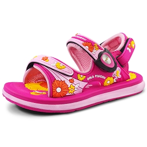 Classic Sandals for Kids: 0721B Fuchsia (Size: T8.5-12.5)