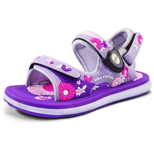 Classic Sandals for Kids: 0721B Purple (Size: T8.5-12.5)