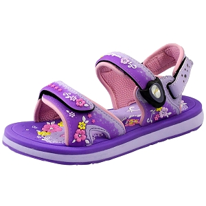 Classic Sandals for Kids: 1630B Purple (Size: K13-4)