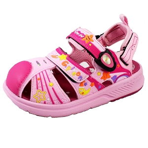 *New Arrival 5/15* Toe Guard for Kids: 1625B Fuchsia (Size: T6.5-10.5)