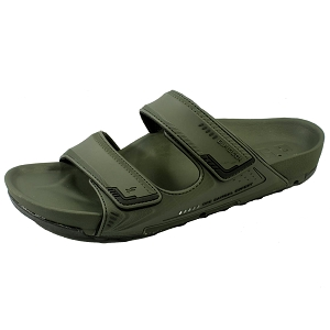 *New Arrival 5/15* Pirogue Orthopedic Slide: 1545 Dark Green (Size: EU39-44)