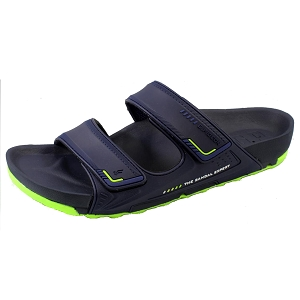 *New Arrival 5/15* Pirogue Orthopedic Slide: 1545 Navy (Size: EU39-44)