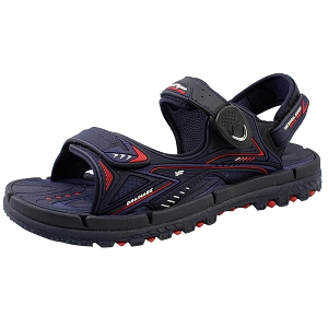 *New Arrival 5/15* Water Release Snap Lock Sandal: 1682 Navy Red (Size: EU37-41)