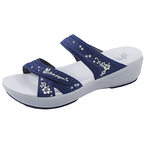 *New Arrival 5/10* Memory Foam: 1577 Navy (Size: Women 5-8)
