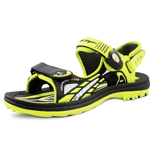 Signature Sandals for Kids: 0702B Black (Size: K1-6.5)