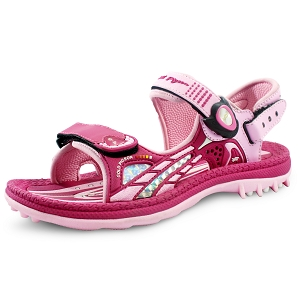 Signature Sandals for Kids: 0702 Fuchsia (Size: K3-6.5)