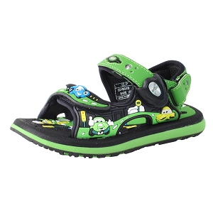 Classic Sandals for Kids: 7603B Green (Size: T9-12.5)