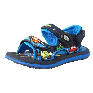 Classic Sandals for Kids: 7603B Navy (Size: T6.5-12.5)