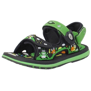 Classic Sandals for Kids: 8681B Green (Size: T10-12.5)