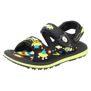 Classic Sandals for Kids: 6966B Black (Size: T6.5-7)