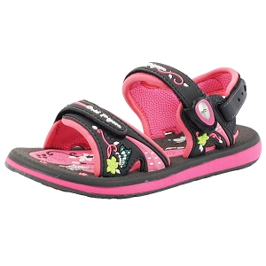 Classic Sandals for Kids: 7614B Grey Pink (Size: K13-4)
