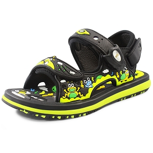 Classic Sandals for Kids: 8681B Black (Size: T6.5-12.5)