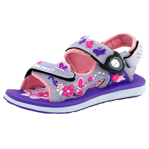 Classic Sandals for Kids: 9203B Purple (Size: T8.5-12.5)