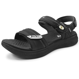 Eva Anti-Fatigue Cushion Sandal: 0755 Black (Size: Women 4.5-7)
