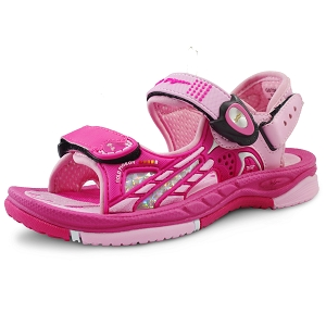 Signature Sandals for Kids: 0706B Fuchsia (Size: T9.5-13.5)
