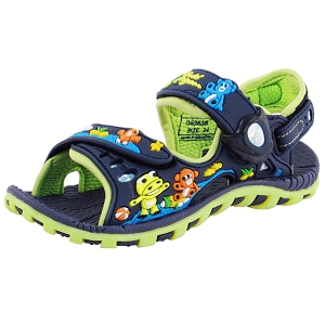 Signature Sandals for Kids: 6963B Navy (Size: T7.5-9)