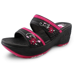 Wedge Slide: 0513 Fuchsia (Size 4-8)