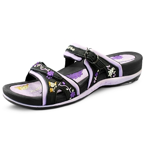 Womens Signature Slides: 6875 Purple (Size: 5.5-9.5)