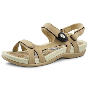 Womens Signature Snap Lock Sandal: 9179 Tan (Size: 4-9.5)