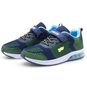 Kids Air Cushion Sneaker: 6923B Blue Green (Size: Kids 1-5.5)