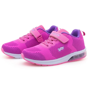 Kids Air Cushion Sneaker: 6923B Fuchsia (Size: Kids 1-5.5)