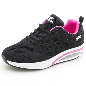 Air Cushion Sneaker: 5889 Black (Size: Women 5-9)