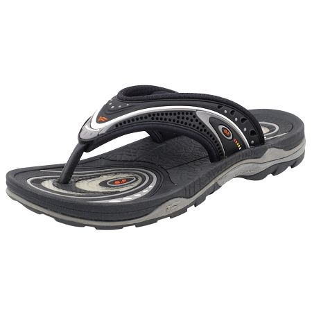 Air Cushion Flop: 5804 Black (Size: Men 7-10.5; Women 8.5-12)
