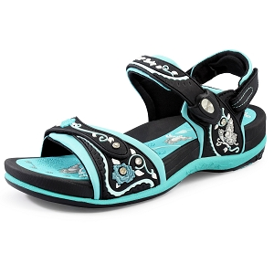 Womens Signature Snap Lock Sandal: 5991 Lt. Blue (Size: 4-9.5)