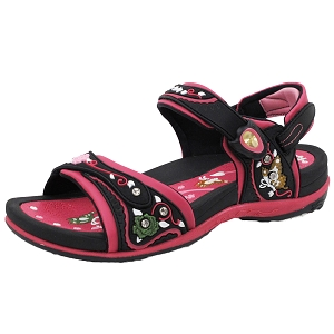 Ladies' Signature Snap Lock Sandal: 5991 Fuchsia (Size: 4.5/5)