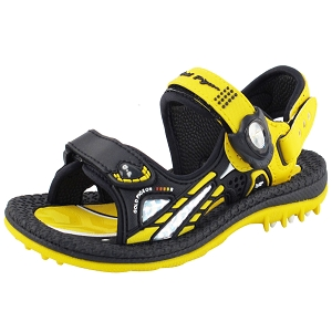 Kids Signature Sandal: 6945B Yellow (Size: T9.5-13.5)