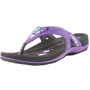 Womens Signature Flip Flops: 7532 Purple (Size: 5.5-9.5)