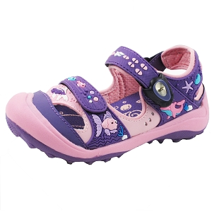 Snap Lock Sandal: 7610B Purple Pink (Size: EU26-32)