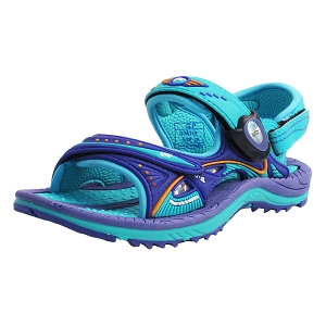 Signature Snap Lock Sandal: 7611 Purple