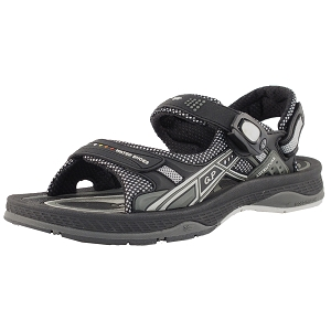 Air Cushion Snap Lock Sandal: 7672 Black (Size: EU38-41)
