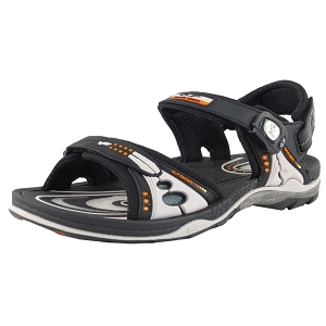 Air Cushion Snap Lock Sandal: 7676 Grey (Size: EU40-44)