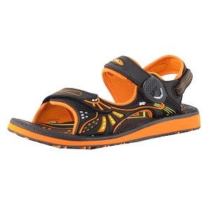 Classic Snap Lock Sandal: 7684 Navy Orange (EU35-39)