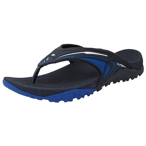 Ergonomic Flip-flops: 8507 Navy (Size: Men 7-12, Women 8-12)