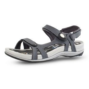 Ladies' Signature Snap Lock Sandal: 9179 Grey (Coming 2019)