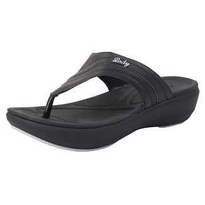 Ladies' Memory Foam: 8518 Black (Size: 4-8)