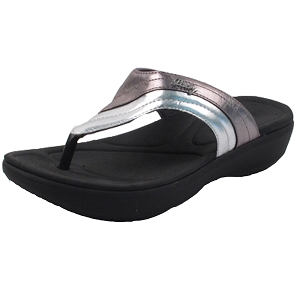 Ladies' Memory Foam: 8518 Silver (Size: 4-8)