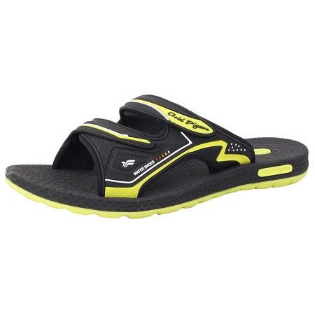 Simplus Slide: 8547 Black Neon Green (Size: EU39-44)