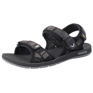Simplus Snap Lock Sandal: 8658M Black (Size: Men 8-11, Women 9.5-12)