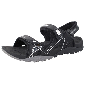 Ergonomic Sandal: 8661 Black Grey (Size: Men 7-12, Women 8-12)