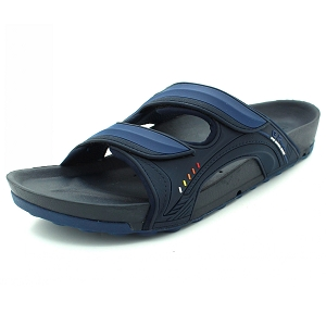 Pirogue Orthopedic Slide: 9030 Navy (Size: EU39-44)