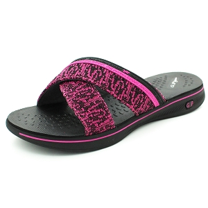 Eva Anti-Fatigue Cushion Slide: 9087 Fuchsia (Size: 6-8)